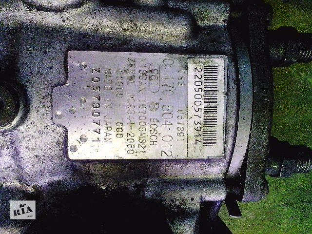 Б/у топливный насос высокого давления для легкового авто Nissan Almera Tino 2.2td (0470504012)- объявление о продаже  в Ковеле