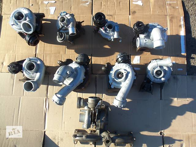 бу Б/у турбина для легкового авто Ford Fusion 1.6 HDI в Ковеле