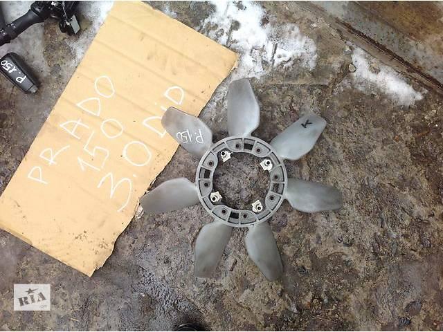 бу Б/у вентилятор осн радиатора для легкового авто Toyota Land Cruiser Prado в Ровно