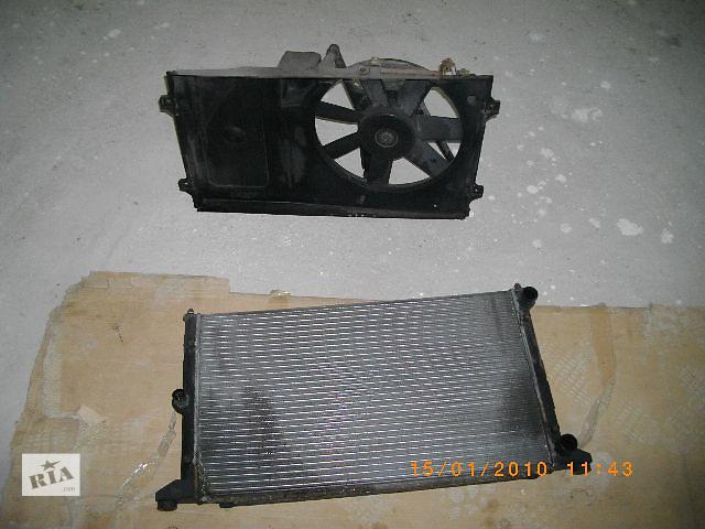 бу Б/у вентилятор осн радиатора для легкового авто Volkswagen Sharan 1998 в Львове