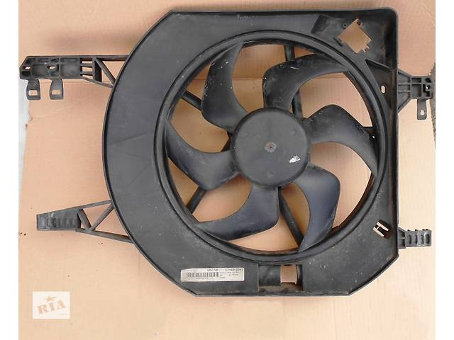 Б/у вентилятор осн радиатора Renault Trafic 1.9, 2.0, 2.5 Рено Трафик (Vivaro, Виваро) 2001-2009гг- объявление о продаже  в Ровно