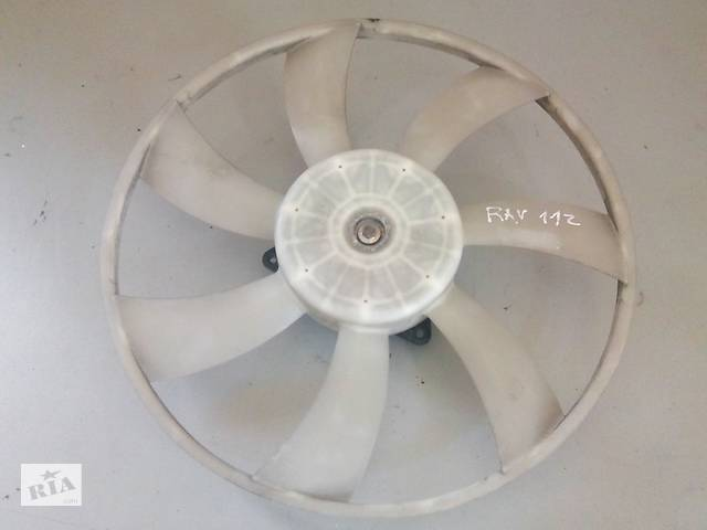 купить бу Б/у вентилятор радий кондиціонера для Toyota Rav 4 2006-2012 1636328240 в Києві