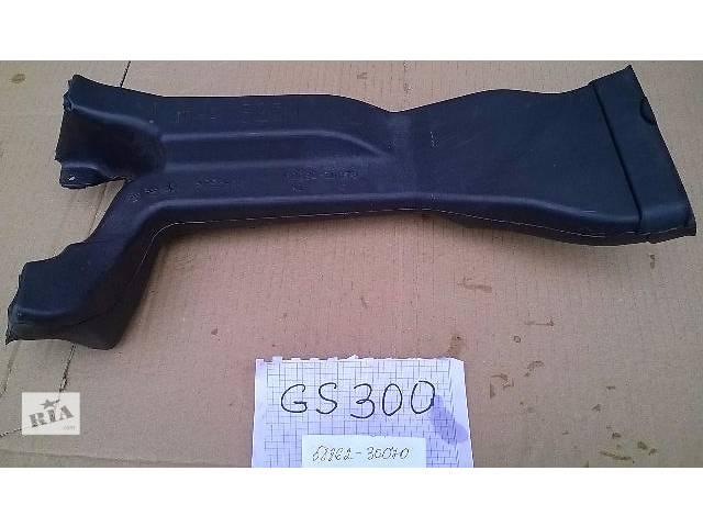 купить бу Б/у воздуховод в центральной консоли 58862-30070 для седана Lexus GS 300 2007г в Николаеве