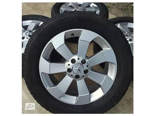 продам Б/в Диски + шини Mercedes orig. R18 5x112 8j ET56 GL ML GLS Мерседес Р18 МЛ бу в Львове
