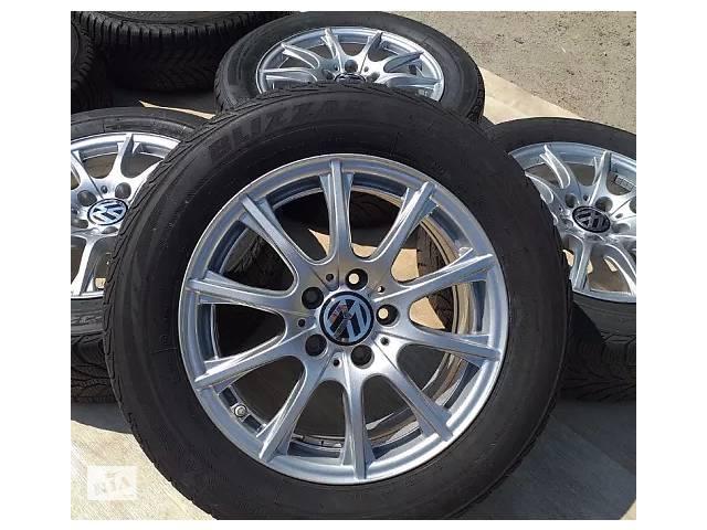 продам Б/в Диски VW R16 5x112 6,5j ET38 Golf Passat B6 B7 B8 Jetta Caddy Skoda A5 бу в Львове