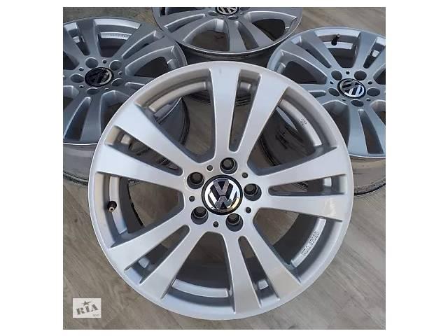 продам Б/в Диски VW R17 5x112 7.5j ET47 Passat B6 B7 Tiguan Golf Jetta Skoda Audi бу в Львові