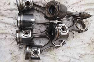 Б/у поршень 2.5 тди для Fiat Ducato 2002рв на фиат дукато поршня оригинал номинальные пробег 230тис гарантия что добрые