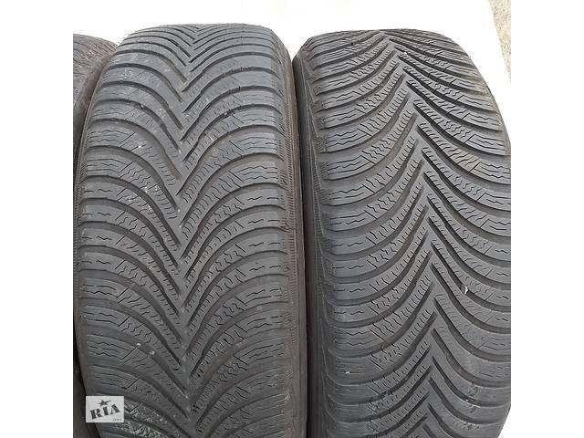продам Б/в шини 205/55/16  Michelin Alpin5 2х6,5мм протектор зимова бу в Львове