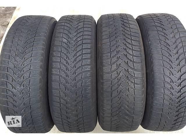 купить бу Б/у шины зимние 205/60/16 Michelin Alpin A4 4x7-6,5 мм зимние в Львове