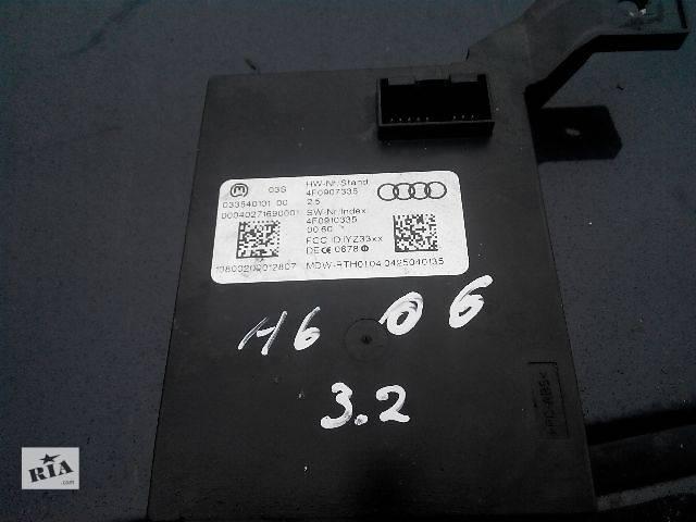 продам Б/у Блок считывания информации с антенн системы бесключевого доступа 4F0907335 Легковой Audi A6 2006 бу в Львове