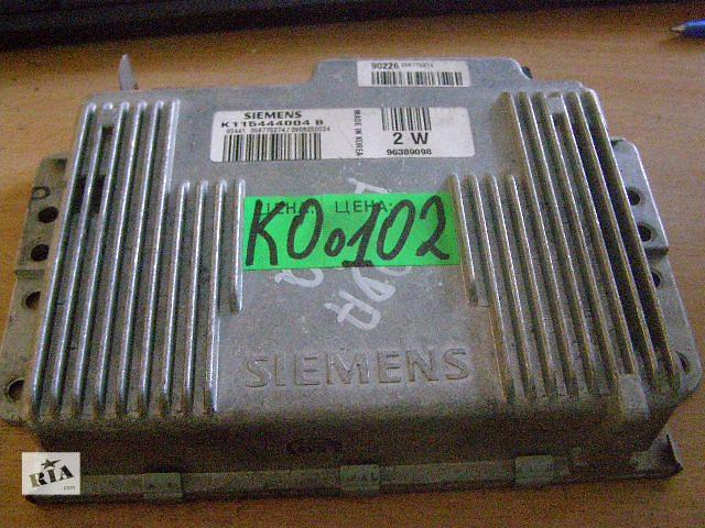 Б/у блок управления двигателем для легкового авто Daewoo Matiz 0.8 K115444004B- объявление о продаже  в Таврийске