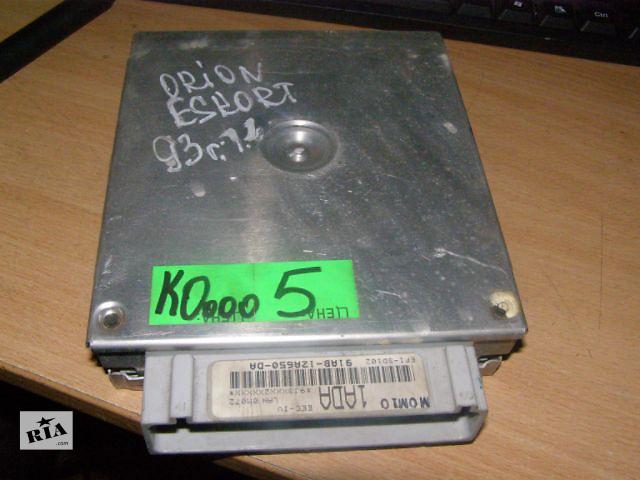 купить бу Б/у блок управления двигателем для легкового авто Ford Escort 91AB12A650DA 1.4 в Таврийске