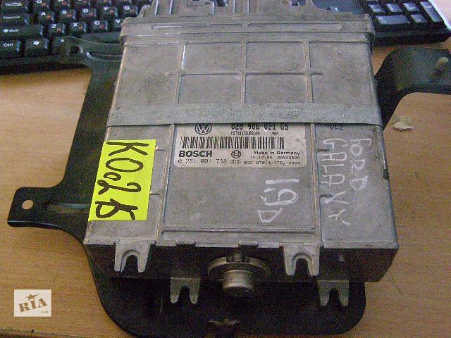 бу Б/у блок управления двигателем для легкового авто Ford Galaxy 1.9D 0281001738  028906021GS в Таврийске