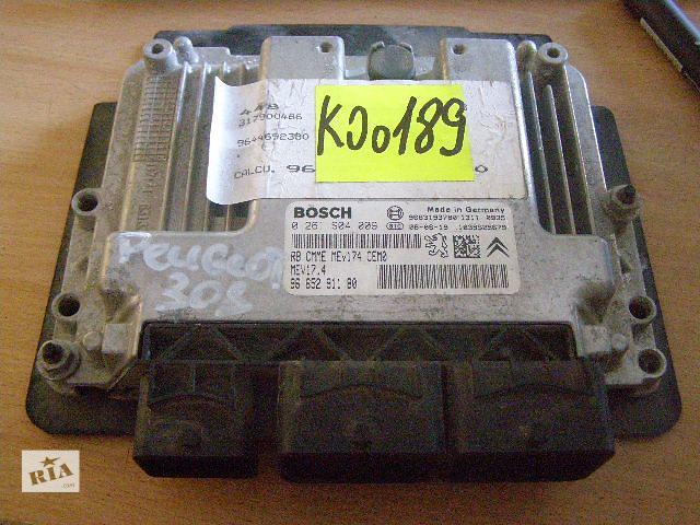 Б/у блок управления двигателем для легкового авто Peugeot 308 1.4 16V 0261S04009- объявление о продаже  в Таврийске
