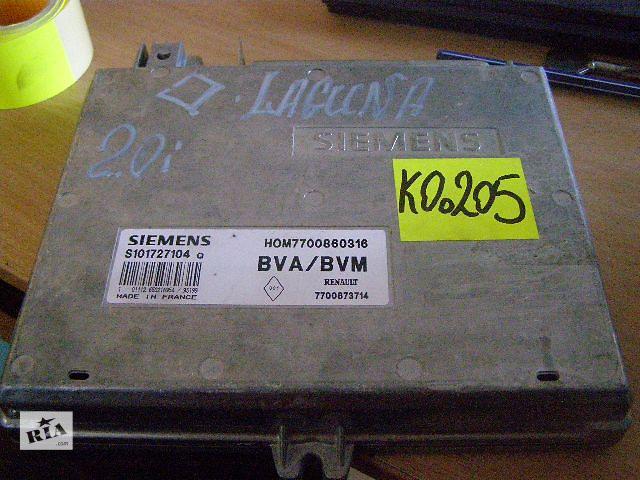 продам Б/у блок управления двигателем для легкового авто Renault Laguna 2.0i S101727104Q бу в Таврийске