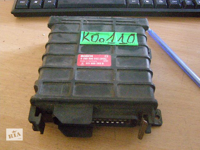 продам Б/у блок управления двигателем для легкового авто Volkswagen GOLF II 1.8i 0280800042 бу в Таврийске