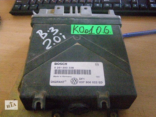 продам Б/у блок управления двигателем для легкового авто Volkswagen PASSAT B3 2.0i 0261200328 бу в Таврийске