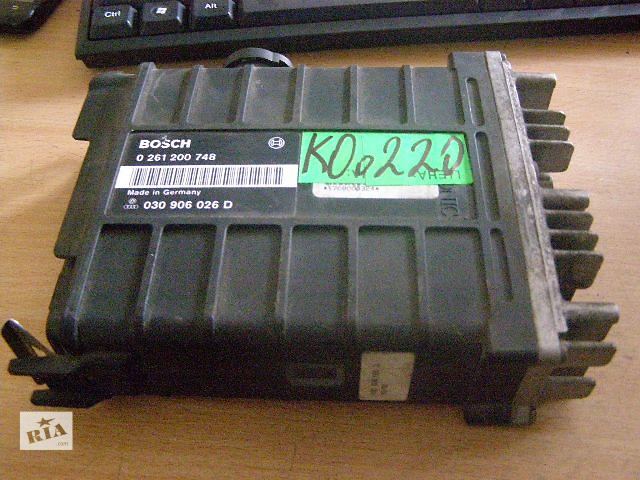бу Б/у блок управления двигателем для легкового авто Volkswagen Polo 1.8 0261200748/ 030906026D в Таврийске