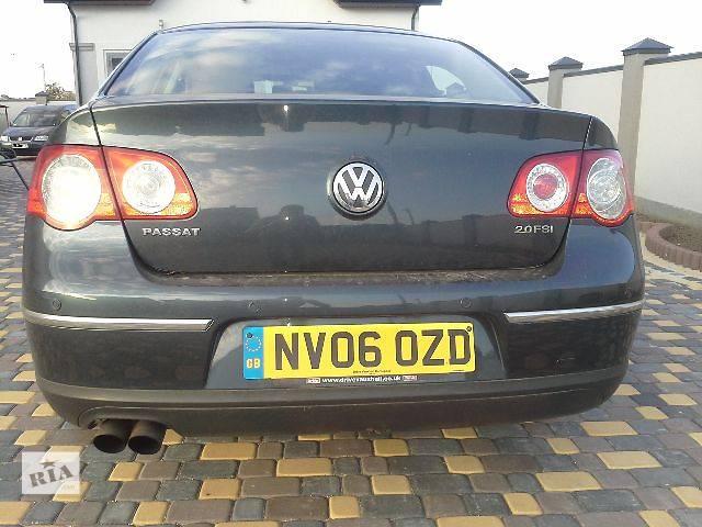 купить бу б/у Деталі кузова Бампер задній Легковий Volkswagen B6 Седан 2008 в Львові