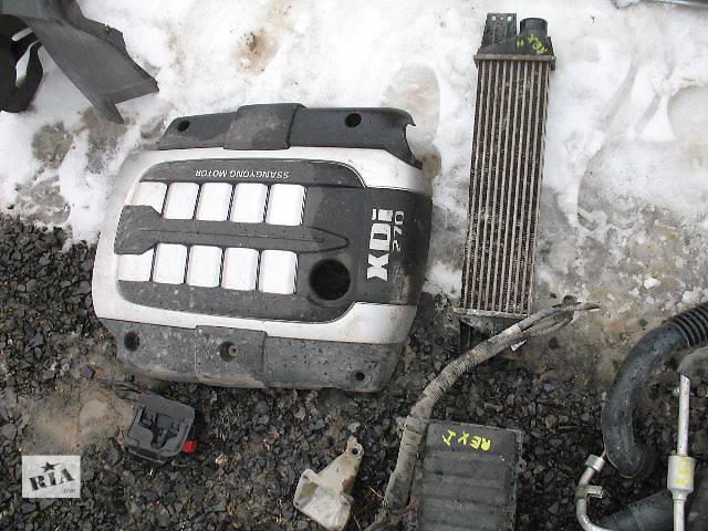бу б/у Детали двигателя Крышка мотора Легковой SsangYong Rexton в Луцке
