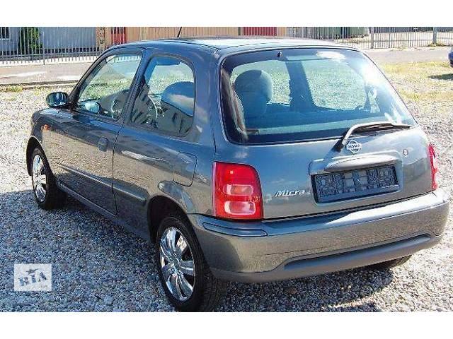 бу б/у Детали кузова Багажник Легковой Nissan Micra 1999 в Львове