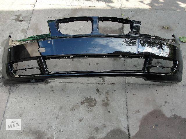 Б/у бампер передний для легкового авто BMW 1 Series (все) ДЕШЕВО В НАЛИЧИИ!!!- объявление о продаже  в Львове