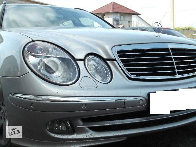 купить бу Б/у Детали кузова Бампер передний Легковой Mercedes E-Class 2003 в Львове