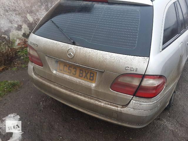 купить бу Б/у Детали кузова Бампер задний Легковой Mercedes C Class Wagon в Львове