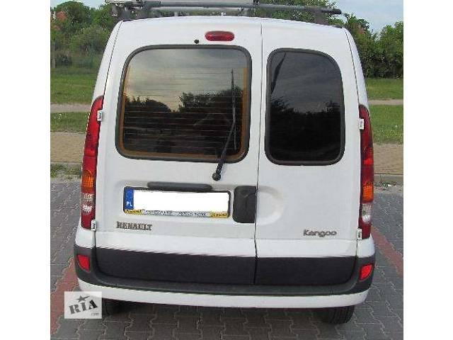 бу б/у Детали кузова Бампер задний Легковой Renault Kangoo 2004 в Львове