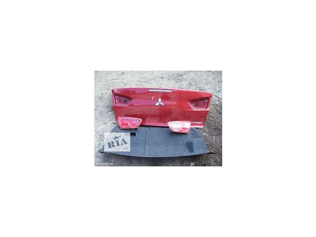 продам б/у Двери/багажник и компоненты Крышка багажника Легковой Mitsubishi Lancer X 2008 бу в Киеве