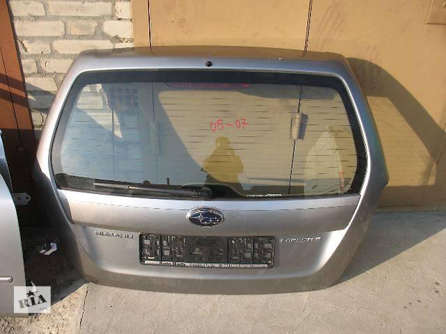 бу б/у Двери/багажник и компоненты Крышка багажника Легковой Subaru Forester 2006 в Луцке