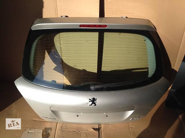 купить бу б/у Двери/багажник и компоненты Крышка багажника Peugeot 207 в Одессе