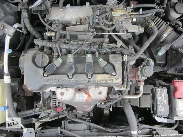 бу б/у Двигатель 1.8 бензин Nissan Primera 1999-01 год. в Киеве