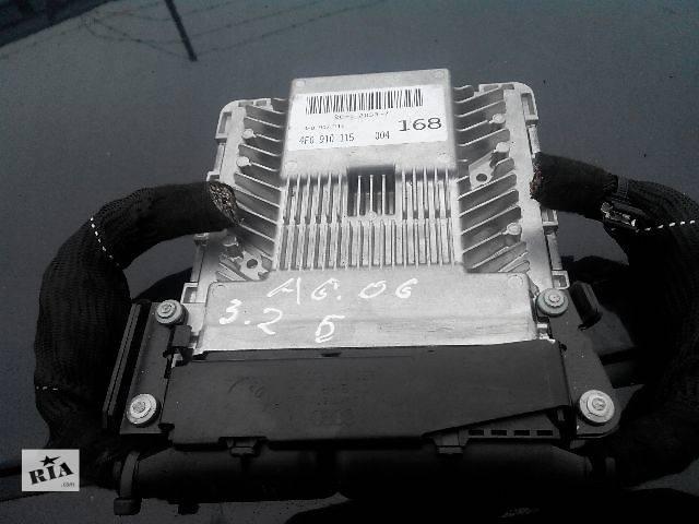 Б/у Электрооборудование двигателя Блок управления двигателем 4f0910115Легковой Audi A6 2006- объявление о продаже  в Львове