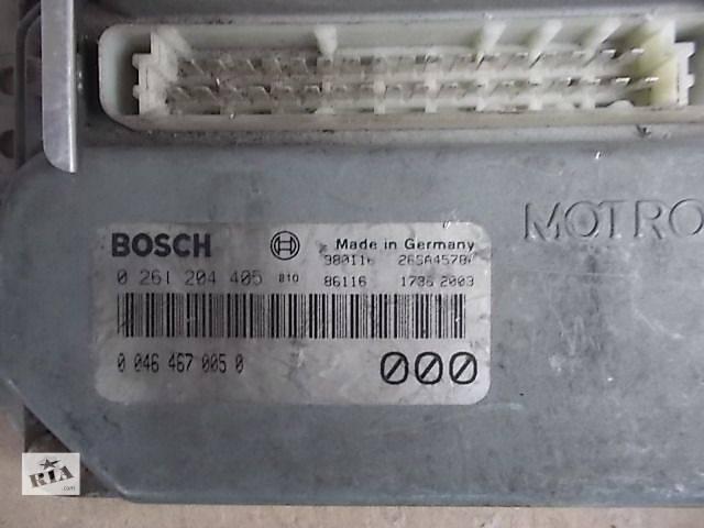 бу Б/у Электрооборудование двигателя Блок управления двигателем Легковой Fiat Brava 2000 0261204405 в Ровно