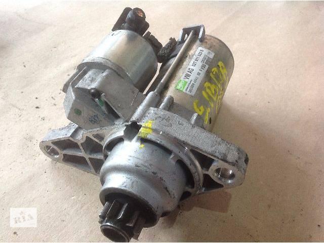 купить бу б/у Электрооборудование двигателя Стартер 02T911023S Seat Altea 1.2, 1.4, 1.6 в Луцке