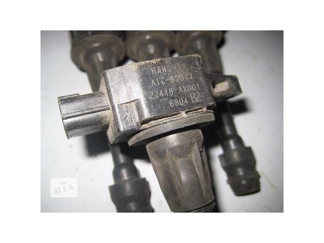 купить бу Б/у Катушка зажигания NISSAN Micra K12 1.2i CG12-DE 2002~2010 OE:22448-AX001 Гарантия Доставка Установка в Киеве