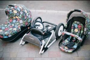 б/у Детские универсальные коляски Riko