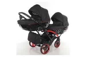 Универсальная коляска для двойни Tako Junama Individual Duo Slim 01