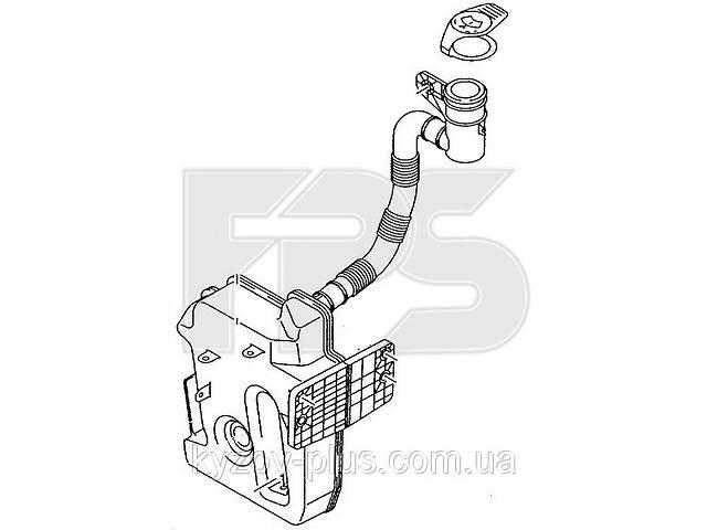 купить бу Бачок омывателя Skoda Octavia A5 (1 насос) Fps FP 6407 100 в Киеве