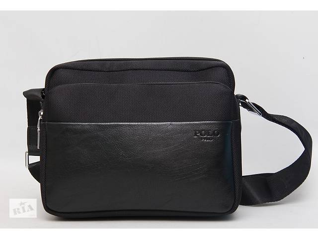 продам Стильна чоловіча сумка / барсетка / планшетка через плечі Polo бу в Києві
