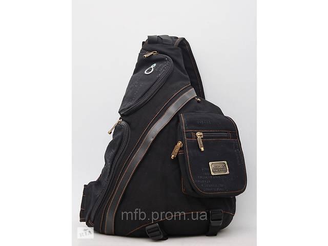 продам Чоловічий повсякденний міський рюкзак через плече на одну лямку  Gold Be / GoldBe бу в Киеве