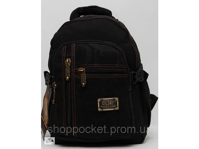 купить бу Чоловічий рюкзак Gold Be / GoldBe / Мужской брезентовый рюкзак в Дубно