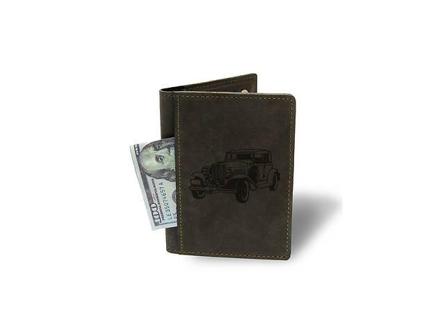 Холдер-паспорт Ретро М01 коричневый - 177967- объявление о продаже  в Одессе