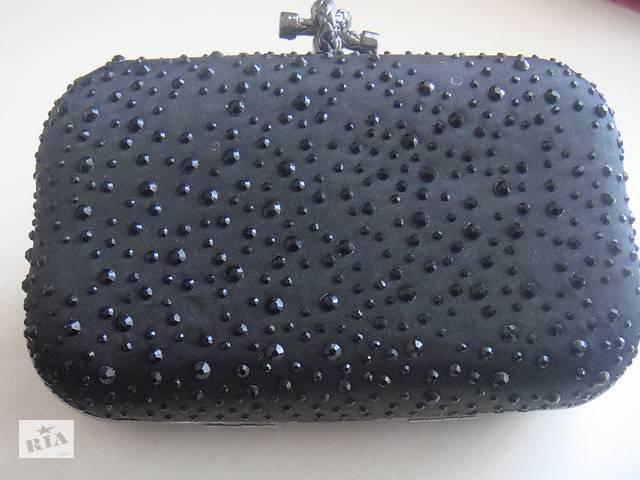 Продаю оригінальний клатч чорного кольору- объявление о продаже  в Ірпені