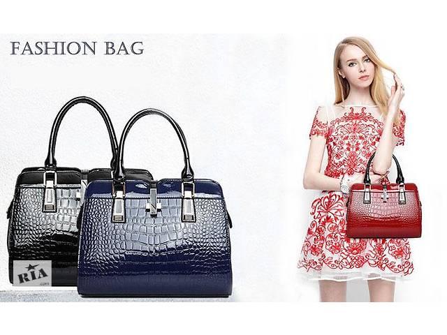 fdbe6e2062e1 купить бу Распродажа стильных женских сумок Etaloo из натуральной кожи +  подарок! в Киеве