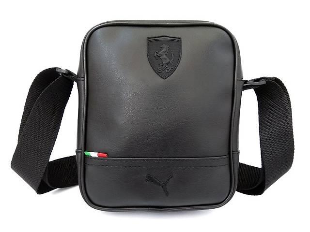 c30a31ef3a05 Стильная мужская барсетка Puma (Formula), сумка на плечо Пума Ferrari!