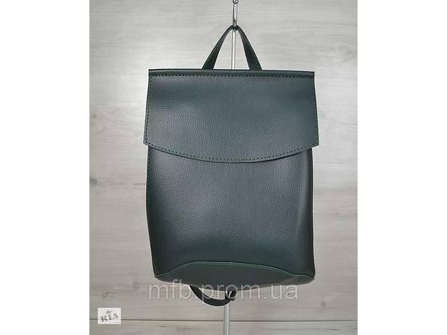 продам Уценка. Стильный кожаный (кожа искусственная) женский рюкзак бу в Дубно