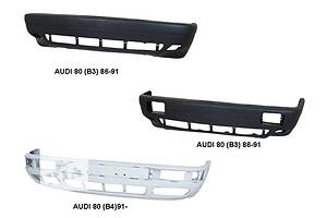 Новые Бамперы передние Audi 80