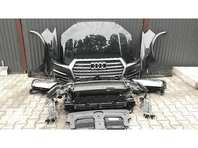 купить бу Бампер передний для легкового авто Audi Q7 09-15 Q7 4M, Q7 W12,Q7 S-LINE морда комплектная запчасти в Львове